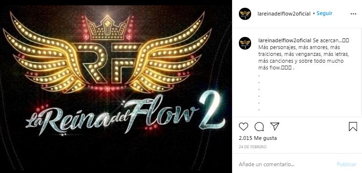 estreno de la reina del flow 2