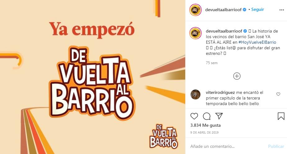 Serie De Vuelta al Barrio